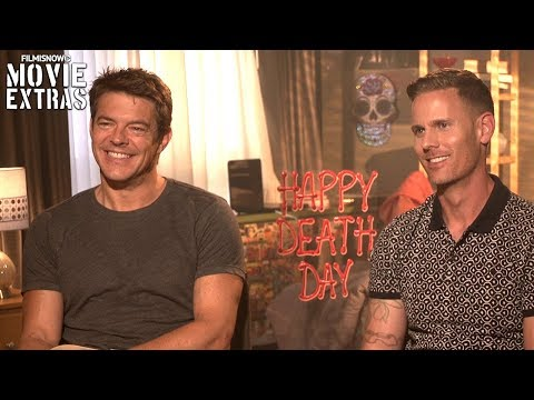Happy Death Day 2017 Christopher Landon & Jason Blum talk about their experience making the movie