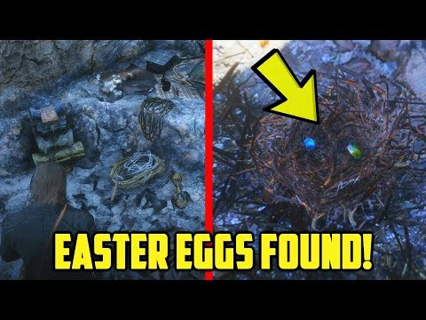 New Secret ''Easter Egg'' Eagle Nest Found in Red Dead Redemption 2! thumbnail
