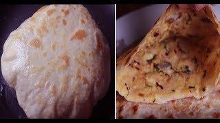 Aloo Paratha Recipe in Bangla || আলু পরোটা সহজ রেসিপি || সকালের নাস্তা