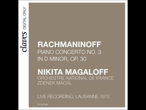 Nikita Magaloff - Sergei Rachmaninoff: Piano Concerto No. 3 in D Minor, Op. 30 (Live) / I. Allegro..