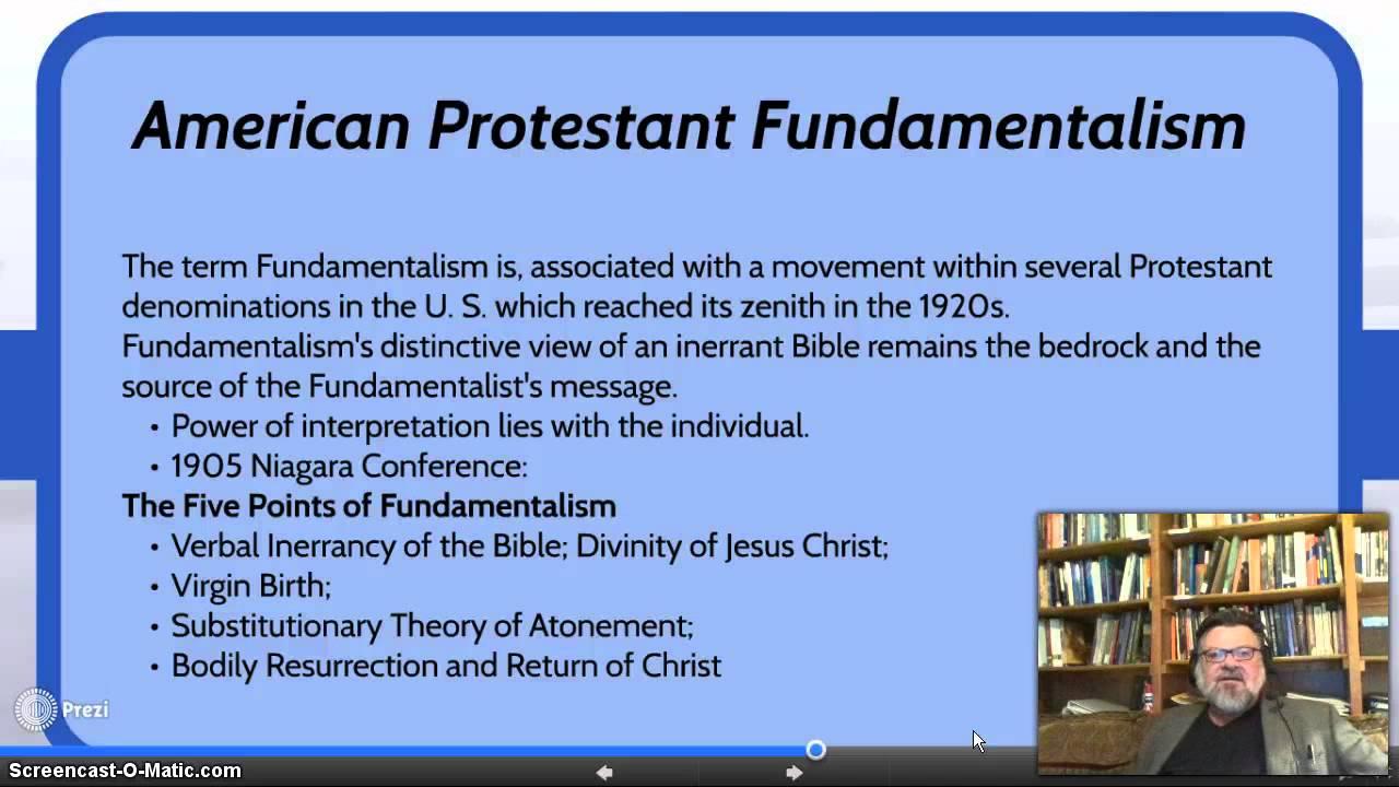 14 Secularization and Fundamentalism - YouTube