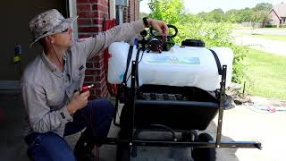 Master Wond And Boom Sprayer First Go And Review!