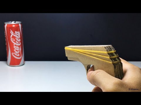 How To Make Rubber Band Gun Which Fires Multiple Rubbe