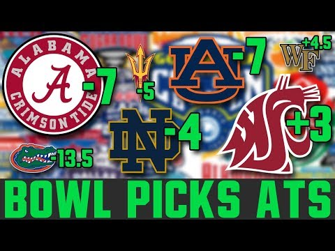 CFB Bowl Game Spread Picks (College Football Bowl Picks Against The Spread)