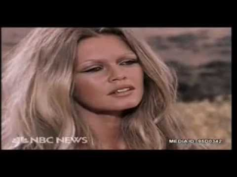 Brigitte Bardot And Claudia Cardinale Interview.