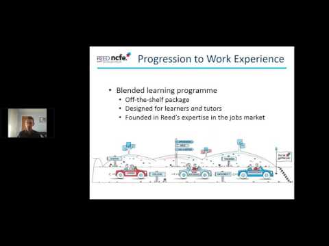 Progression to Work Experience blended learning