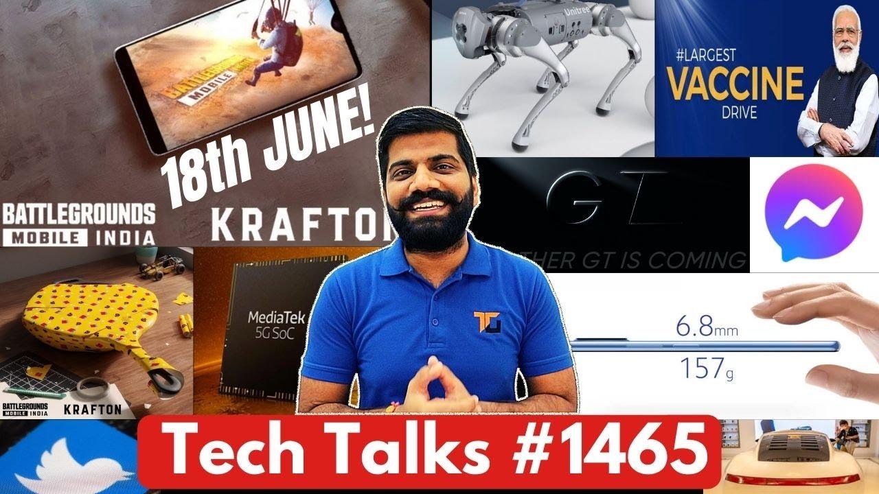 Tech Talks #1466 - BGMI 18 June Official, CoWIN Hacked?, Realme Laptop launch, Mi 11 Lite India, M32