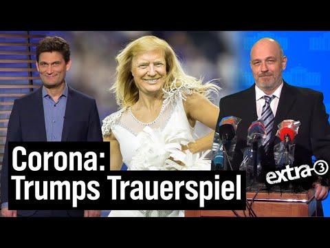 USA Und Corona: Erst Ignoriert, Dann Infiziert | Extra 3 | NDR