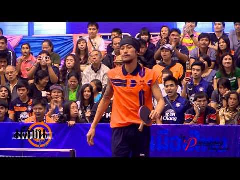 กีฬาแห่งชาติ สุพรรณบุรีเกมส์ ปิงปอง ประเภท ทีม  พี่ตูน  05 01 56 LOGO มติชน TV