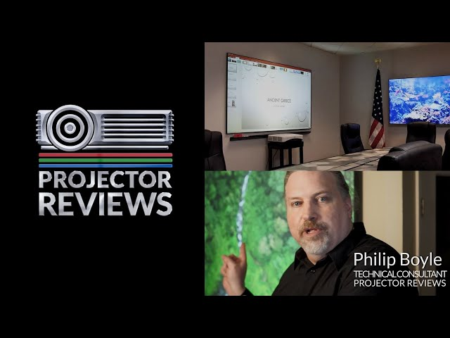 Elite ProAV's WhiteBoardScreen Thin Edge CLR® 2 Series Reviewed by ProjectorReviews.com