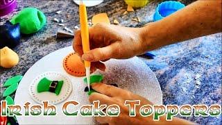 Irish Themed Cupcake Topper Ideas