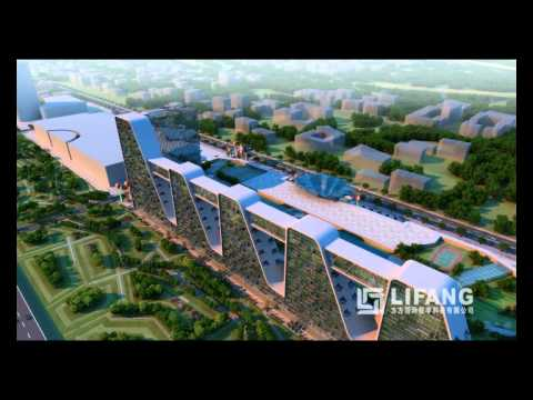 Lifang Architectural Visualization 3D Animation of a Mixed Use Retail and Residential Development