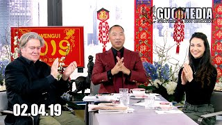 2019  Miles Guo amp Stephen K Bannon view 2019 Chinese New Year