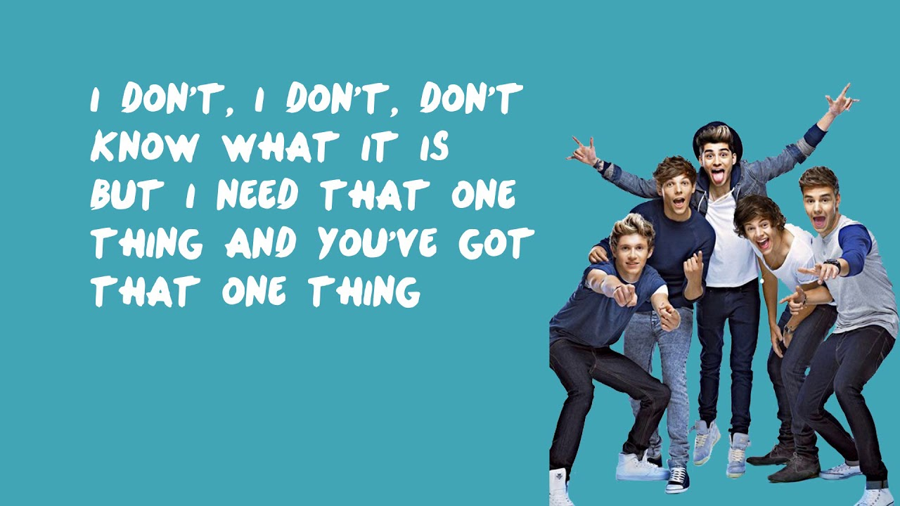 Download One Thing - One Direction (Lyrics)