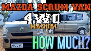 Mazda scrum 4WD how much?