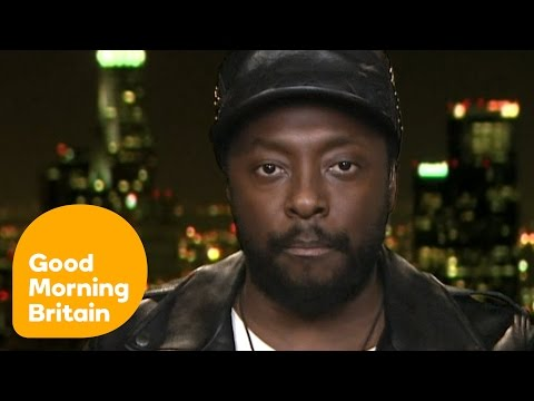 Will.I.Am Emotionally Explains The Reason Behind New 'Where Is The Love?' | Good Morning Britain