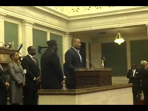 Raheem Brock appears at Philadelphia City Council
