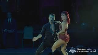 Sharna Burgess & Tony Dovolani 2018 BMA Foundation Dancing With The Stars