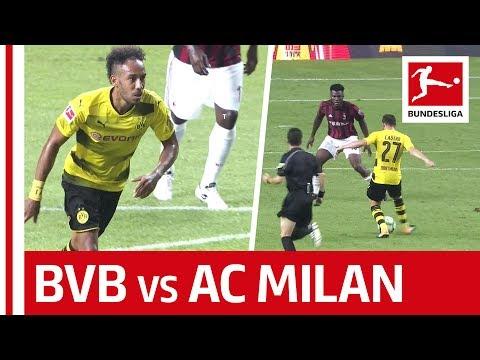 Borussia Dortmund vs. AC Milan - Highlights - Aubameyang Shines in China
