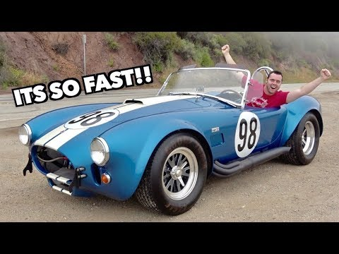 THIS 1965 SHELBY COBRA IS FASTER THAN A LAMBORGHINI