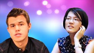 Magnus Carlsen vs Hou Yifan - 2016 Tata Steel Chess Tournament