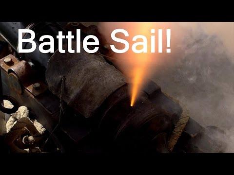 Battle Sail: The tall ships Lady Washington and Hawaiian Chieftain