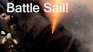 Battle Sail: The tall ships Lady Washington and Hawaiian Chieftain
