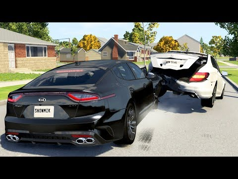luxury-car-crashes-compilation-#24---beamng-drive