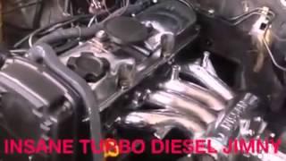 Video Turbo diesel suzuki JB23 jimny download MP3, 3GP, MP4, WEBM, AVI, FLV Juni 2018