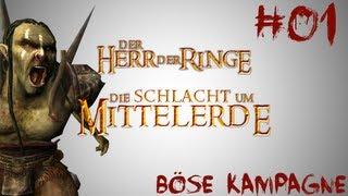 Let's Play Der Herr der Ringe Schlacht um Mittelerde Edain Mod #01 - Ein Ring sie zu knechten...