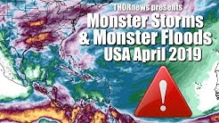 Alert! Monster Storms & Monster Floods for USA & Texas in May