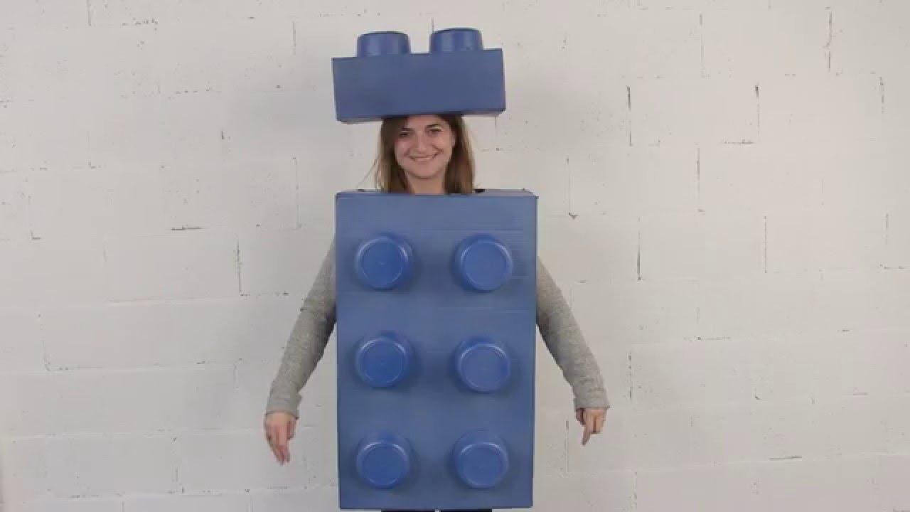 9bf73bde A crear un disfraz muy original para carnaval con cajas de cartón - YouTube