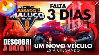 """DESCOBRI A DATA DA NOVA MOTO *exclusiva do free fire"""""""