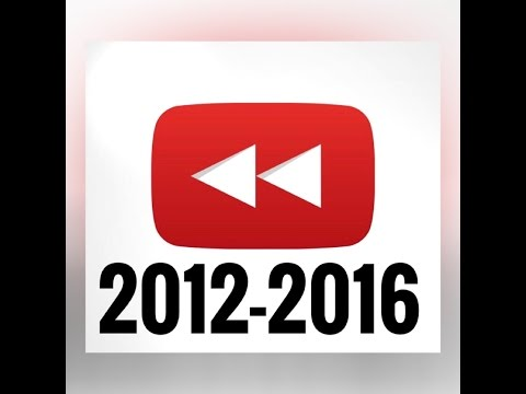 """Rewind YouTube"" 2012 - 2016 