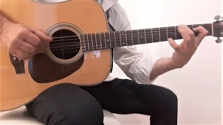 Dire Straits - Romeo and Juliet - Acoustic Guitar - Cover - Fingerstyle
