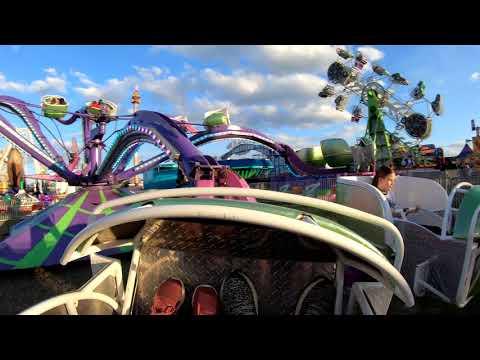 [4K] The Spider Florida State Fair Tampa FL