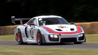 NEW Porsche 935 Going Flatout @ FOS Goodwood! Exhaust Sounds & Accelerations!