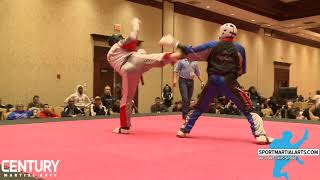 Avery Plowden vs Unk | 2018 Ocean State Grand Nationals | Men's Sparring
