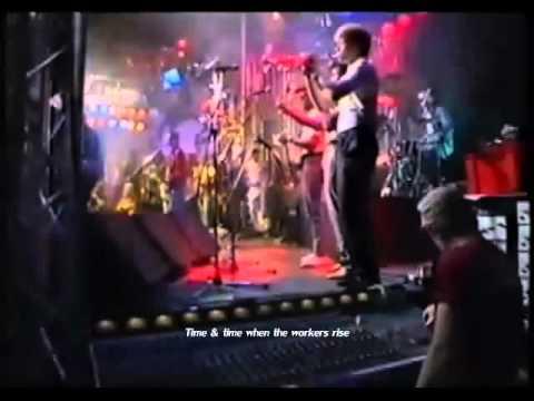 The Redskins - Keep on Keepin' On (Live +Lyrics)