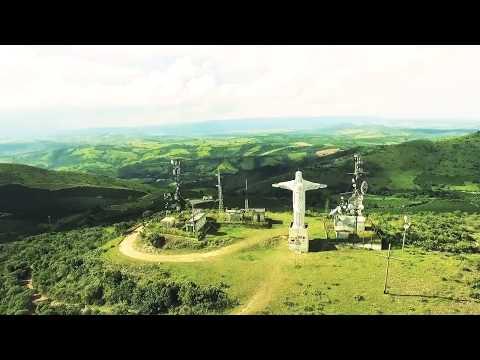 Cristo Redentor, Campos Gerais - MG (Samy Filmagens Aereas)