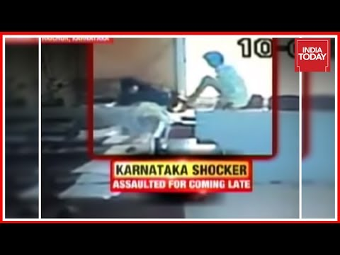Raichur, K'taka: Female Govt. Employee Kicked & Harassed By Colleague For Arriving Late