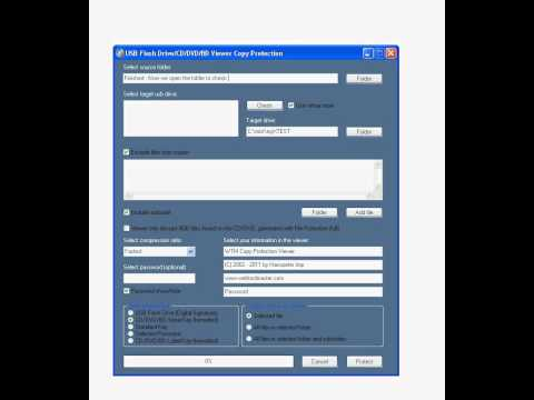 Protect Your Documents, Music, Data Or Any Other Files With WTM Copy Protection Tutorial