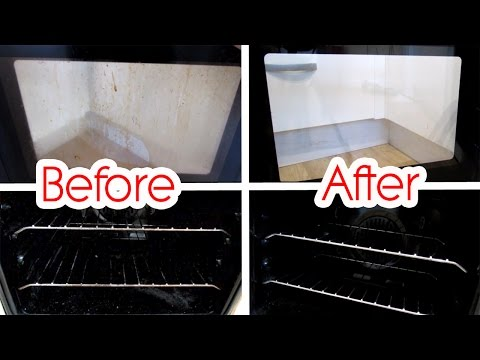 Cleaning Oven With Baking Soda and Lemon...Does It Work? | Shamsa