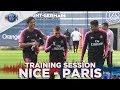 TRAINING SESSION - NICE vs PARIS SAINT-GERMAIN
