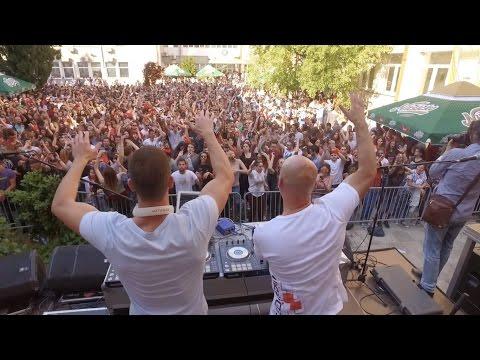 Igor Garnier b2b LuckyDee live @ Live For Students - Podgorica 12.04.2017.