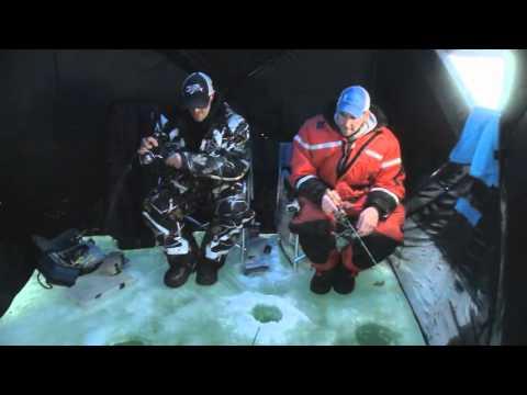 Fishing Lake Simcoe - Ice Fishing