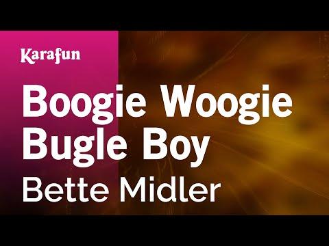Karaoke Boogie Woogie Bugle Boy - Bette Midler *