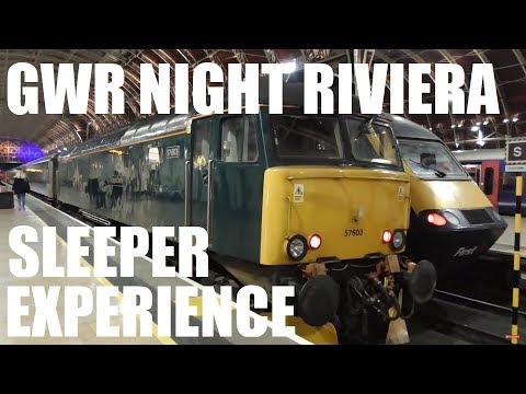 GWR Night Riviera Sleeper London to Penzance Experience