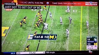 Michigan vs MSU 2017 Last Play