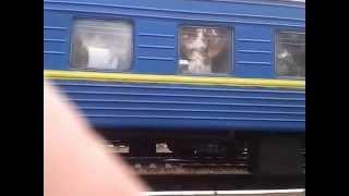 отправка поезда Первомайск на Буге